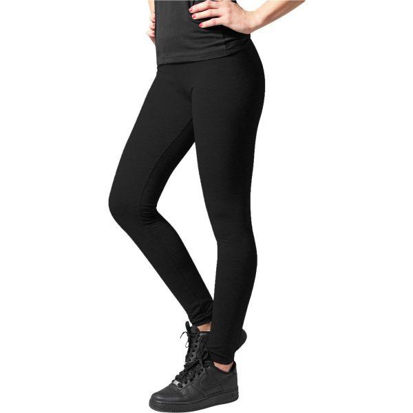 Urban Classics Ladies - Jersey Stretch Leggings schwarz