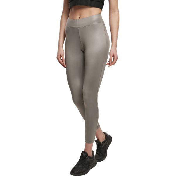 Urban Classics Ladies - Lederimitat Leggings