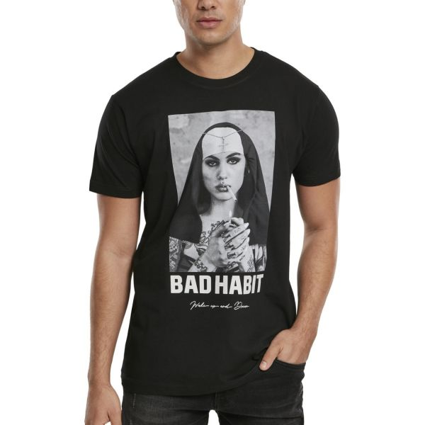 Mister Tee Shirt - BAD HABIT schwarz