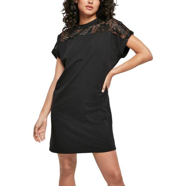 Urban Classics Ladies - Lace Shirt Kleid