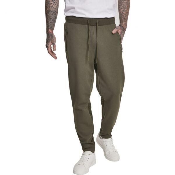Urban Classics - MILITARY Sweatpants olive