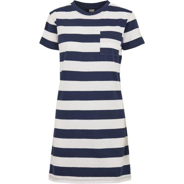 Urban Classics Ladies - Stripe Boxy Tee Kleid