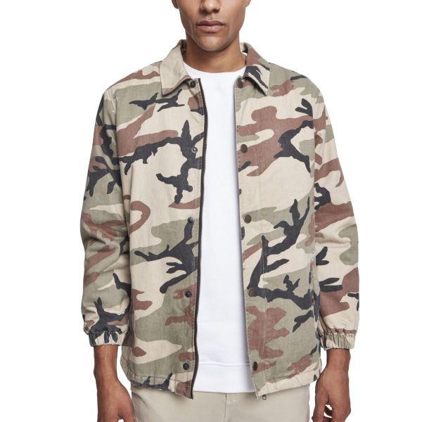 Urban Classics - Cotton Coach Jacke camouflage