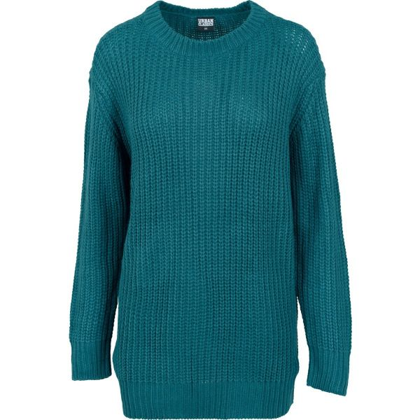 Urban Classics Ladies - Grobstrick Long Sweater Pullover