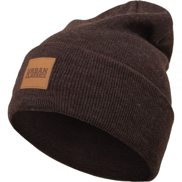 Urban Classics - PATCH Long Heather Beanie Wintermütze