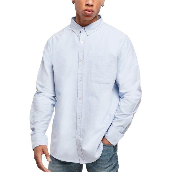 Urban Classics - Basic Oxford Hemd blau / weiß