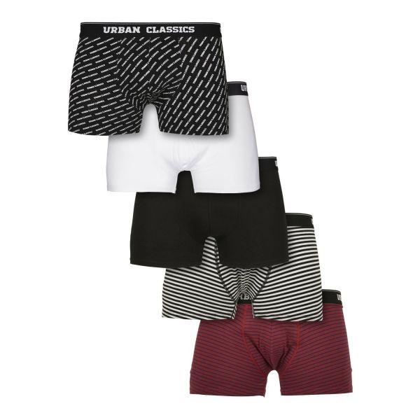 Urban Classics - Boxer Shorts 5er Pack multi