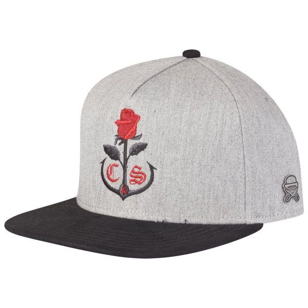 Cayler & Sons Snapback Cap - ROSE KEEPER grau