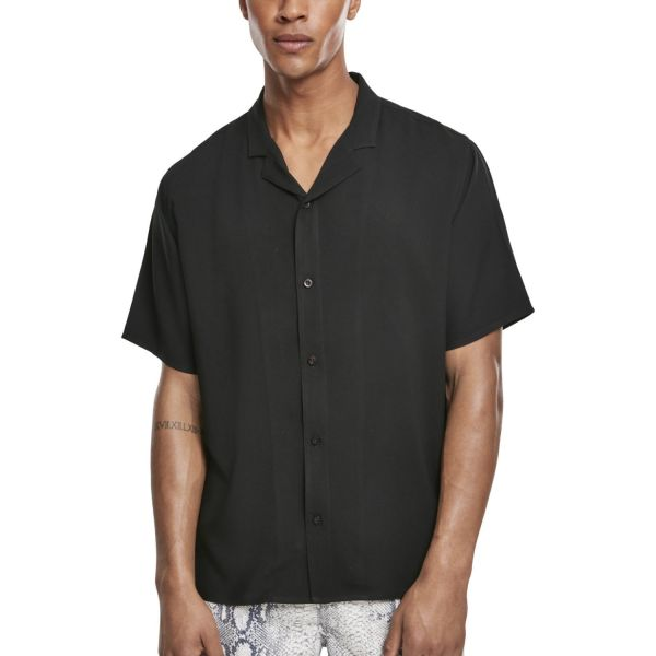 Urban Classics - Viscose Resort Sommer Shirt Hemd