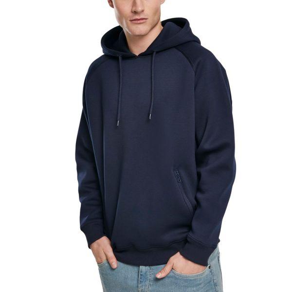 Urban Classics - Raglan Zip Pocket Hoody navy