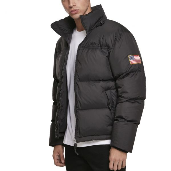 Mister Tee - NASA Puffer Winter Jacket silver