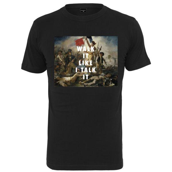 Mister Tee Shirt - WALK IT schwarz