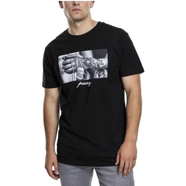 Mister Tee Shirt - PRAY 2.0 schwarz