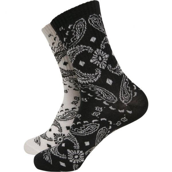 Urban Classics - BANDANA Unisex Socken 2er Pack