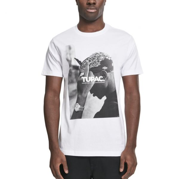 Mister Tee Shirt - 2PAC WORLD blanc