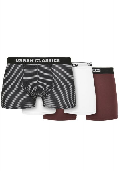 Urban Classics - Organic Boxer Shorts 3er Pack multi