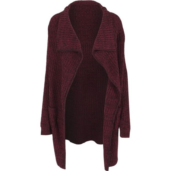Urban Classics Ladies - Knitted Long Cape Strick Cardigan