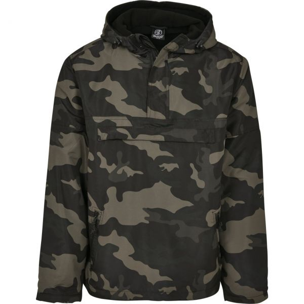 Brandit WINDBREAKER Pull-Over Army Windjacke, gefüttert