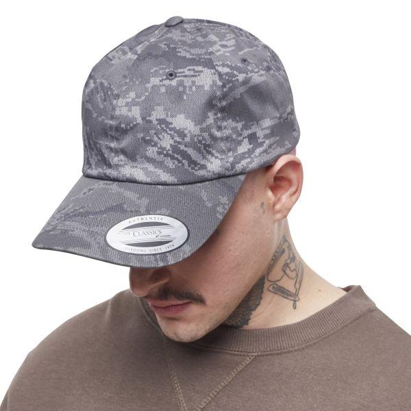 Flexfit LOW PROFILE Strapback DAD Cap - digital camo