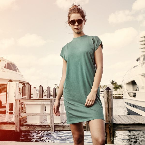 Urban Classics Ladies - Turtle Sommer Mini Kleid Tunika