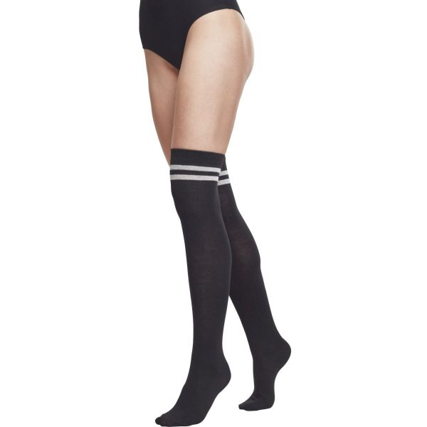 Urban Classics Ladies - Overknee Socken 2-er Pack