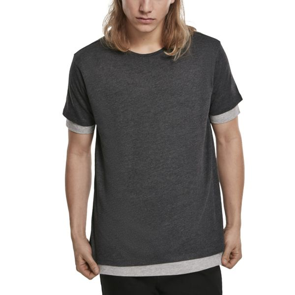 Urban Classics - Full Double Layered Shirt