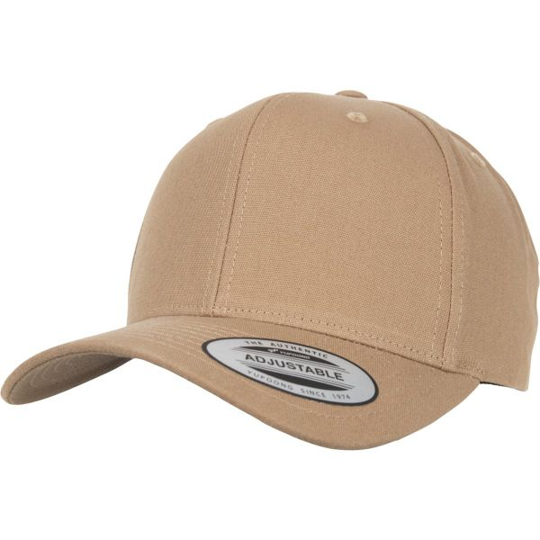 Flexfit 6-Panel Curved Metal Strapback Cap