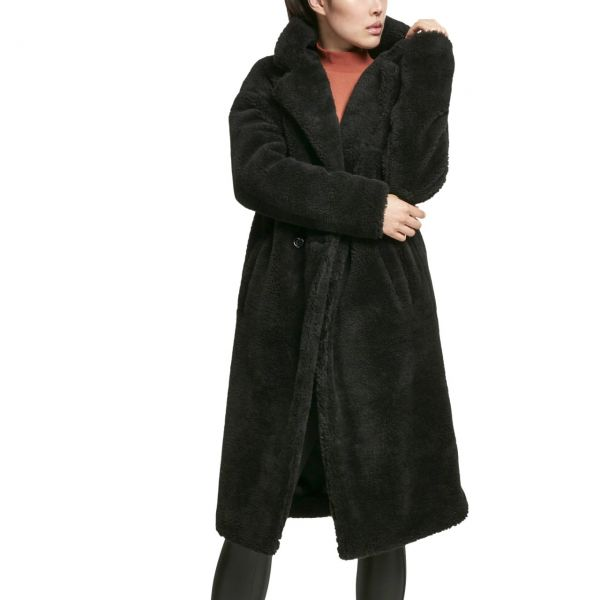 Urban Classics Ladies - OVERSIZED TEDDY Sherpa Mantel