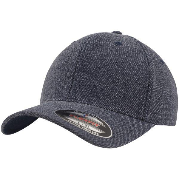 Flexfit MELANGE Curved Stretch-Fit Baseball Cap