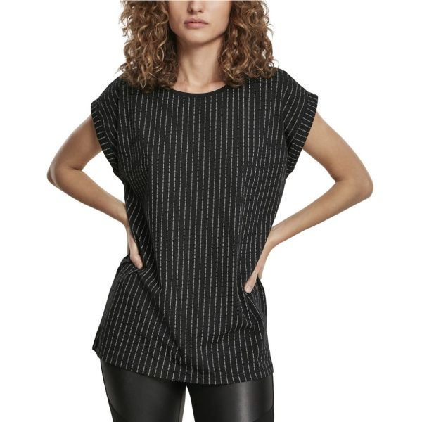 Mister Tee Ladies Extended Shoulder Top - F#?K YOU