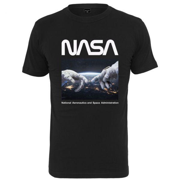 Mister Tee Shirt - NASA Astronaut Hands schwarz