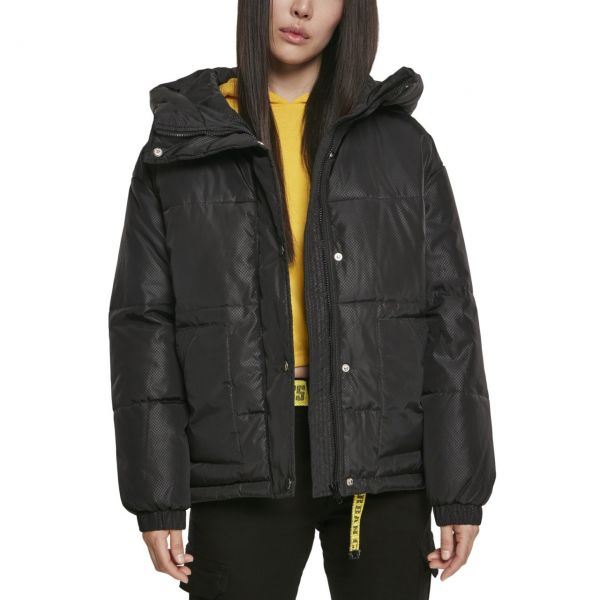 Urban Classics Ladies - Oversized Puffer Hooded Winterjacke