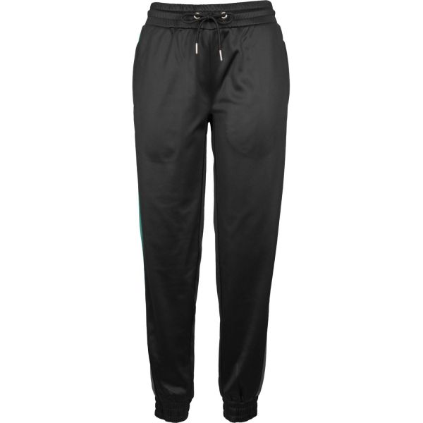 Urban Classics Ladies - Cuff Track Pants navy / rouge