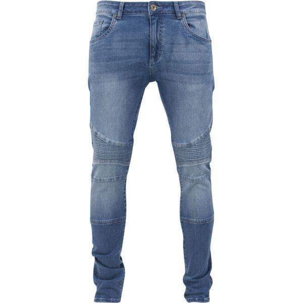 Urban Classics - SLIM FIT Denim Biker Stretch Jeans