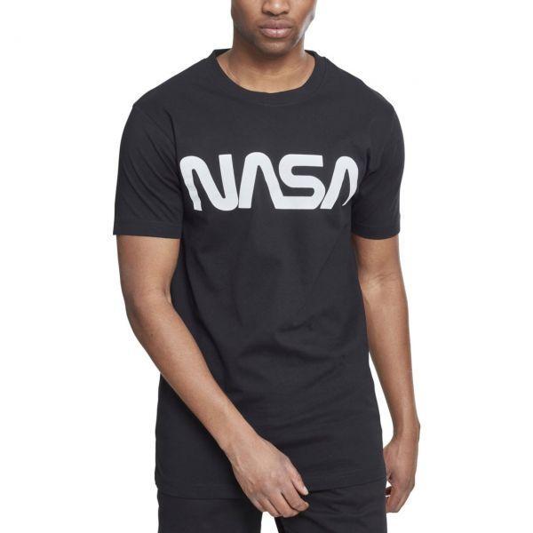 Mister Tee Shirt - NASA WORM white