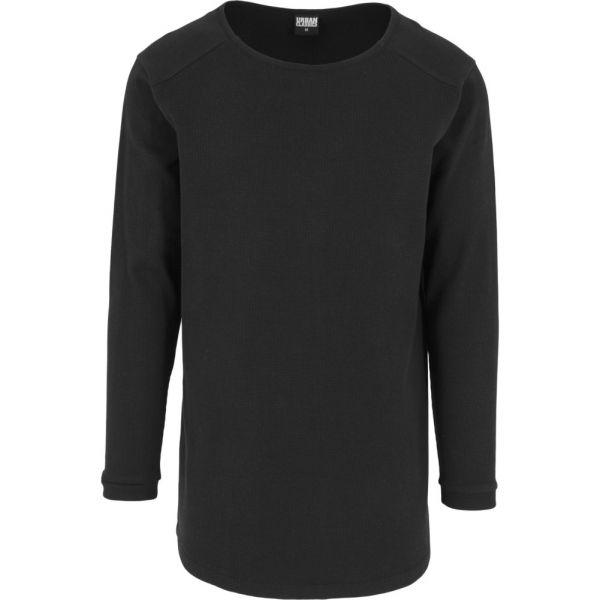 Urban Classics - SHAPED WAFFLE Longsleeve Shirt extra lang