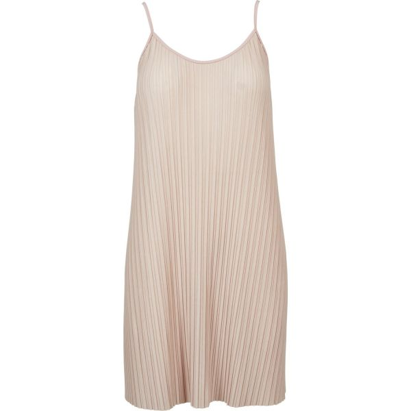 Urban Classics Ladies - Jersey Pleated Slip Kleid
