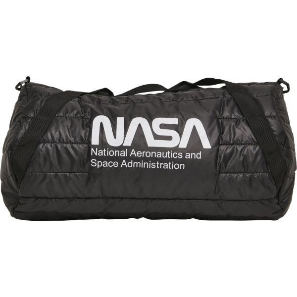 Mister Tee - NASA Puffer Duffle Bag noir