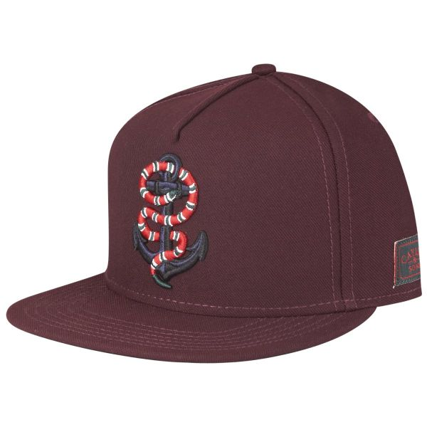 Cayler & Sons Snapback Cap - ANCHORED bordeaux