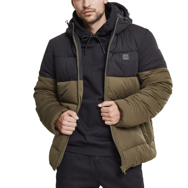 Urban Classics - HOODED PUFFER Winterjacke