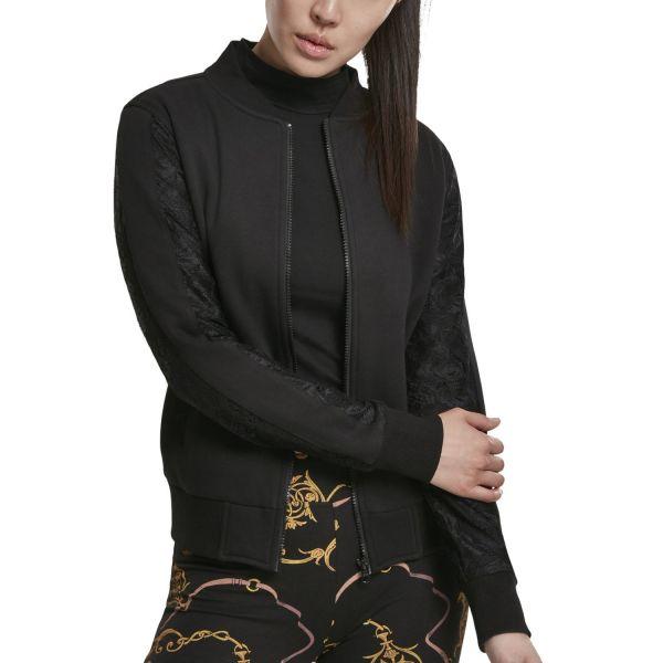 Urban Classics Ladies - Laces Spitze BOMBER Jacket