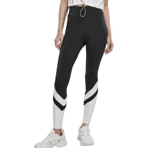 Urban Classics Ladies - Arrow High Waist Leggings black