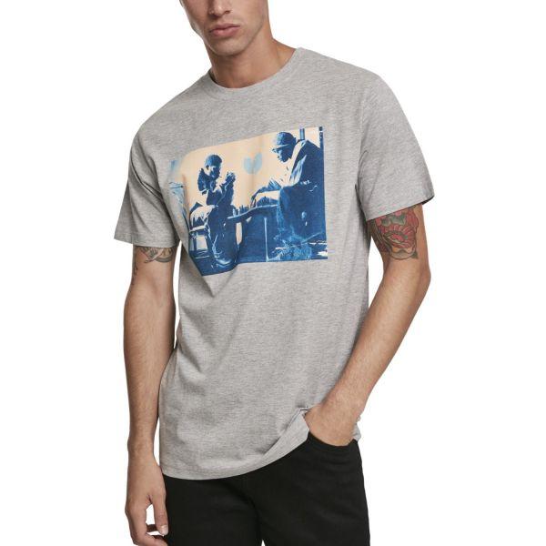 Wu-Wear Hip Hop Shirt - LOGO grey