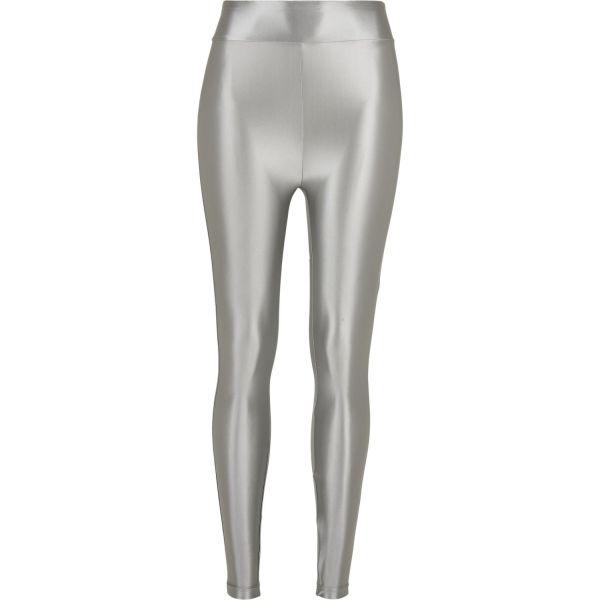 Urban Classics Ladies - High Waist Shiny Metalic Leggings
