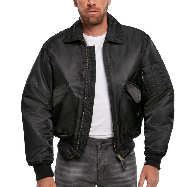 Brandit - CWU BOMBER Flight Jacket black