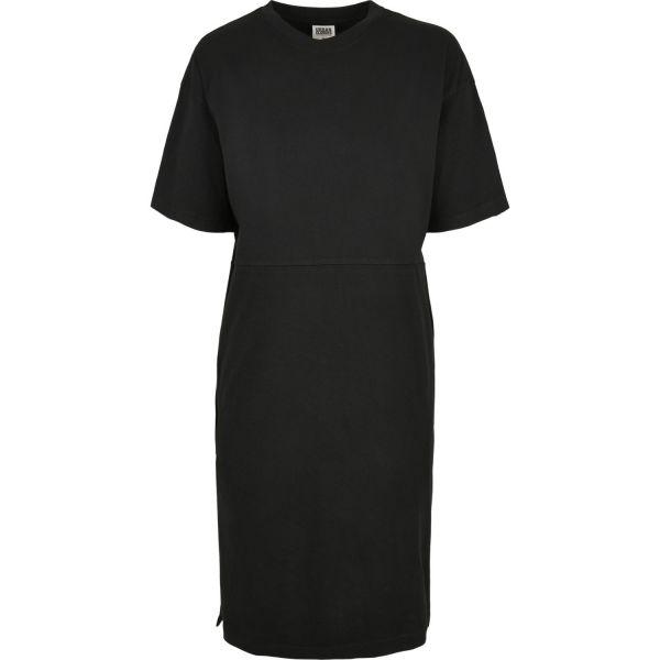 Urban Classics Ladies - Organic Oversized SPLIT TEE Kleid