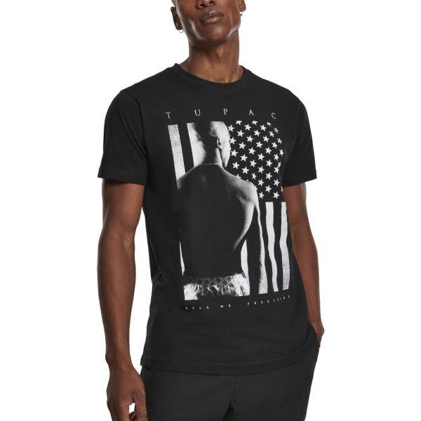 Mister Tee Shirt - 2PAC President noir