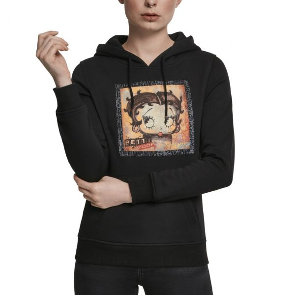 Merchcode Ladies Hoody - BETTY BOOP schwarz