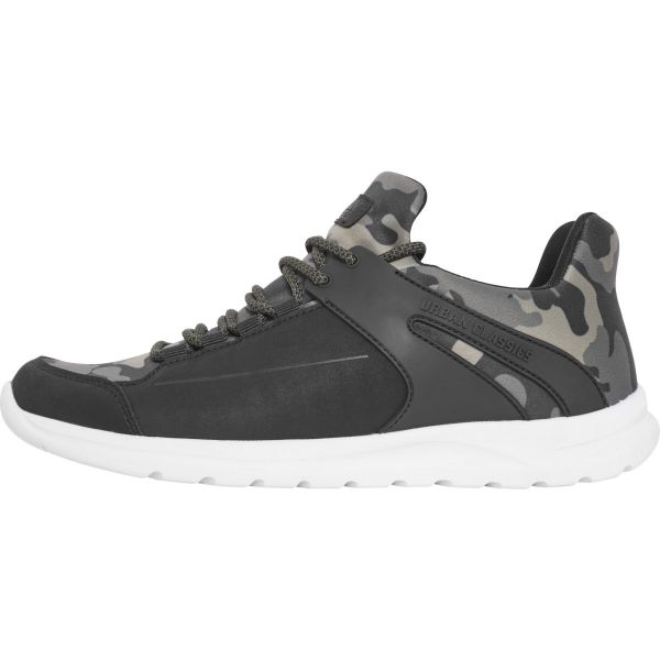Urban Classics - TREND Sneaker Chaussures olive camo