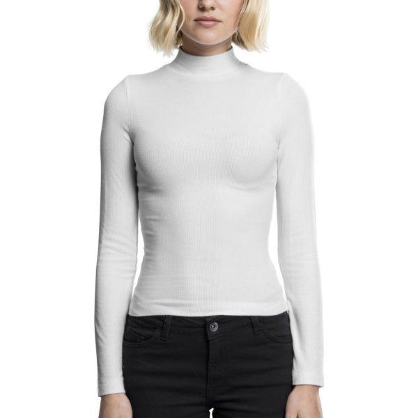 Urban Classics Ladies - Turtleneck Longsleeve Langarm Shirt